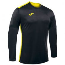 JOMA Campus II Jersey - Black / Yellow (Long Sleeve)